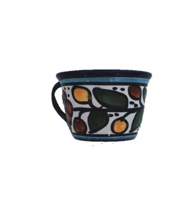 Tasse à café avec la sous-tasse