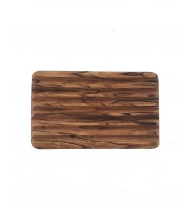 Porte savon en bois d'olivier - rectangulaire
