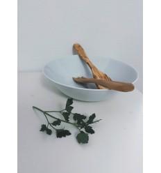 Couverts à salade en bois d'olivier