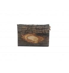 Crèche buche PF sculptée en bois d'olivier
