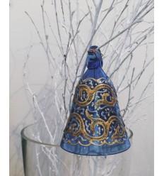 Cloche verre décoré PF
